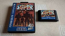 SUPER STREET FIGHTER 2 - PAL ESPAÑA SIN MANUAL SEGA MEGADRIVE MEGA DRIVE