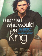 Game of Thrones Kit Harington Interview, 2014, Charlie Bewley, Rory McCann
