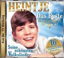 HEINTJE - DAS BESTE  CD  16 TRACKS VOLKSMUSIK / SCHLAGER BEST OF  NEU