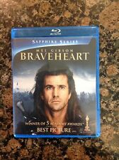 Braveheart (Blu-ray Disc, 2013, 2-Disc Set) Authentic Us Release Scratch Free