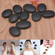 7PCS / Lot Hot Spa Rock Basalt Stone Beauty Stones Massage Lava Natural Stone