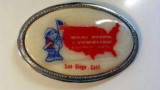 """Vintage Belt Buckle """"Toolshed Equipment Rental"""" San Diego, California"""