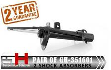 2 NEW FRONT GAS SHOCK ABSORBERS FOR MINI ONE COOPER CABRIOLET ///GH-351601///