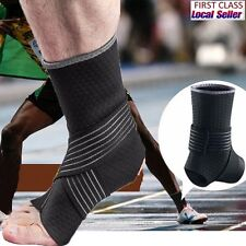 Ankle Support Ankle Protective Brace Guard Sports Basketball Cycling Gym US M DB