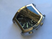oris herren chrono case stahl for parts or repair
