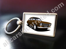 FORD ESCORT MK1 METAL KEY RING. CHOOSE YOUR CAR COLOUR.