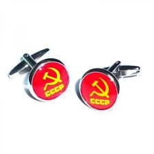 CCCP USSR Russian Hammer and Sickle Russia Symbol Birthday Present CUFFLINKS