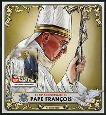 NIGER 2016 80th BIRTH OF ANNIVERSARY OF POPE FRANCIS  S/SHEET MINT NH