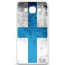 Coque housse étui tpu gel motif drapeau Marseille Samsung Galaxy A3