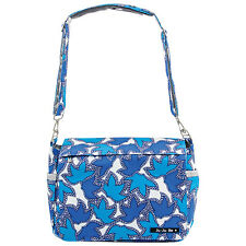 NWT New JUJUBE BETTERBEE Messenger Bag Diaper Bag Tote Sapphire Lace Blue