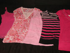 Justice Girls Size 12 Tops spring Summer Clothes Lot