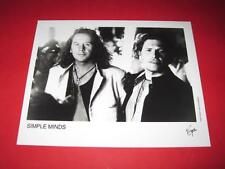 SIMPLE MINDS JIM KERR original 10x8 inch promo press photo photograph 3455-1
