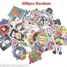 300pcs /lot Sticker Bomb Decal Vinyl Car Body Skate Skateboard Laptop Luggage