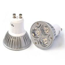 High Power 3W Gu10 Warm White Non-Dimmable LED 120 degree spot lights lamp bulb