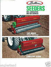Farm Equipment Brochure - Brillion - Turf-Maker - Landscape Seeder  (F4364)