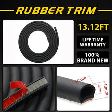 4m Auto Car Door Sealing Strip D Type Sound Proof And Dust Proof Rubber Strip