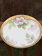 Antique Bawo Dotter Elite Works Limoges Hand Painted Plate - Signed MAURY