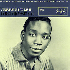 The Best of the Vee-Jay Years [Remaster] [Slipcase] by Jerry Butler (CD,...