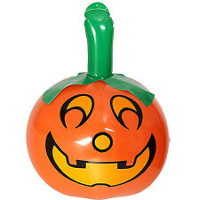 NEW INFLATABLE PUMPKIN 46CM HALLOWEEN WITCHES SPOOKY DECORATION