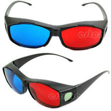 New Red Blue 3D Glasses Frame For Dimensional Anaglyph Movie DVD Game