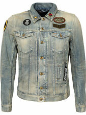 DIESEL ELSHAR 0835U DENIM JACKET SIZE XL 100% AUTHENTIC