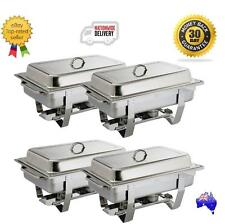 Olympia Milan Chafing Dish Food Warmers X 4 Buffet, Restaurant, Cafe, Hotel