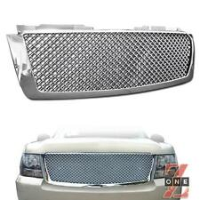 Chevy Tahoe/Avalanche/Suburban 07-14 Mesh Front Hood Bumper Grille Chrome