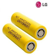 2x LG Genuine HE4 2500mAh Flat Top Rechargeable Li-on Batteries 18650 20/35A IMR