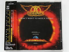 AEROSMITH I Don't Want To Miss A Thing SRCS-8630 JAPAN CD w/OBI 122az61