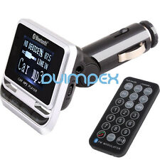 E02 KFZ Auto MP3 Player FM Transmitter USB Stick SD TF Karte Bluetooth Handsfree