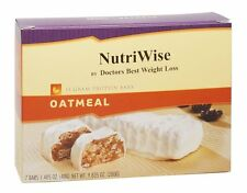 NutriWise - Oatmeal Diet Protein Bars (7 bars) Ideal Weight Loss