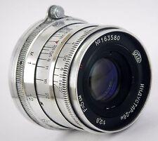 Soviet Lens INDUSTAR 26-m, I-26m 2.8/52 SLR USSR M39 Very Good Condition