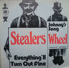 """7"""" 1973! STEALERS WHEEL Everything´ll Turn Out Fine VG+"""
