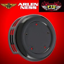 Arlen Ness Horn Cover Steel 5-Hole Black 1991-2017 Big Twin and XL 03-591