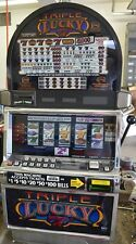 "IGT S2000 COINLESS SLOT MACHINE ""TRIPLE LUCKY 7'S 5 REEL  *"