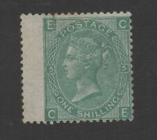 Vic - SG117. 1s green (Plate 5). Very lightly mtd mint. Cat £800.