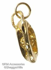 Wall Phone Charm / Pendant EP 24k Gold Plated with a Lifetime Guarantee!