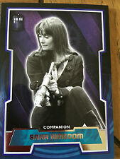 Doctor Who 2015 by Topps Silver Variant Tardis Logo Card Number 45