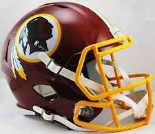 WASHINGTON REDSKINS NFL Riddell SPEED Full Size Replica Football Helmet