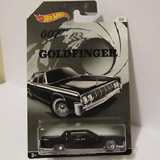HOT WHEELS JAMES BOND 007 SERIES '64 LINCOLN CONTINENTAL GOLDFINGER 3/5