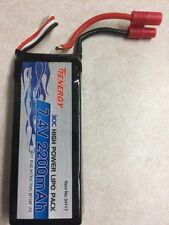 Tenergy 7.4V 2200mAh 30C LIPO Battery Pack w/ 3.5mm Banana Connector for Syma X8