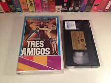 Tres Amigos Rare Spanish Language VHS 1970 Mexi Comedy Adventure Mexcinema OOP