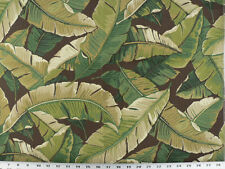 Drapery Upholstery Fabric Indoor/Outdoor Tropical Leaves - Java