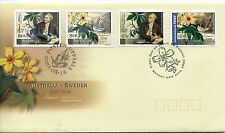 2001 Australia/Sweden Joint Issue (Both Countries Stamps) FDC
