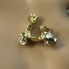 9 ct gold second hand scotter charm