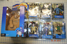 LOT of 7 2005 MCFARLANE TOYS WALLACE & GROMIT CURSE WERE RABBIT FIGURE NEW