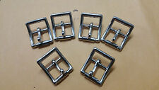 "24PC 3/4"" Roller Buckles With Locking Tongue Nickle Plated Locking Buckle"