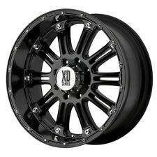 18 Inch Black Wheels Rims Chevy 2500 3500 Dodge RAM Ford Truck 8 Lug Hummer H