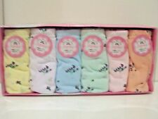 6 PAIRS OF LADY UNDERWEAR BRIEFS  100% COTTON NEW IN BOX