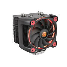ThermalTake Riing Silent 12 Pro Red CPU Cooler with Red 12cm Riing Fan, 170 Watt